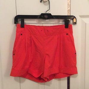 Lululemon red shorts size 4 56812